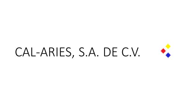 CAL-ARIES, S.A. DE C.V.